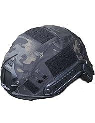 osdreambf táctico militar casco cubre diseño de camuflaje casco accesorio solamente una, sin casco, BKM