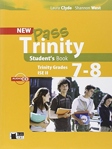 Pass Trinity Student's Book 7-8 (Examinations) by Laura Clyde (1-Jan-2012) Paperback