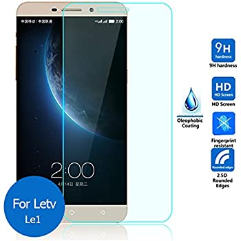 RKMOBILES LeTV Le 1s / Le1s Tempered Glass, 9H Hardness Ultra Clear, Anti-Scratch, Bubble Free, Anti-Fingerprints & Oil Stains Coating (For LeTV Le 1s)
