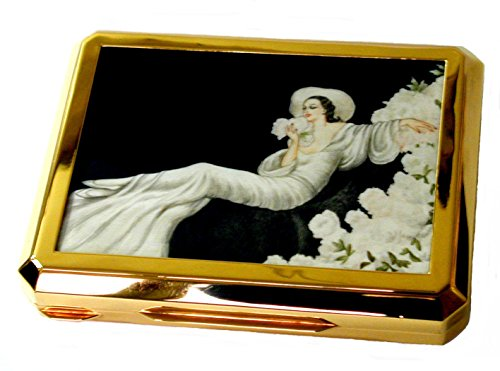 artistic-table-box-in-sterling-silver-goldplated-with-hand-painted-miniature-by-tempera-on-ivory-art