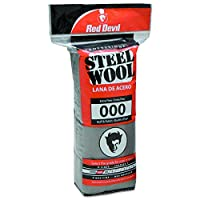 Red Devil 0311 Steel Wool, 000 Extra Fine, (Pack of 16)