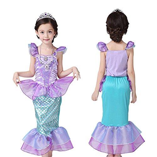 kinder-baby-kleidung-mermaid-tail-fancy-ruschen-hulsen-kleider-prinzessin-ariel-bling-cosplay-hallow