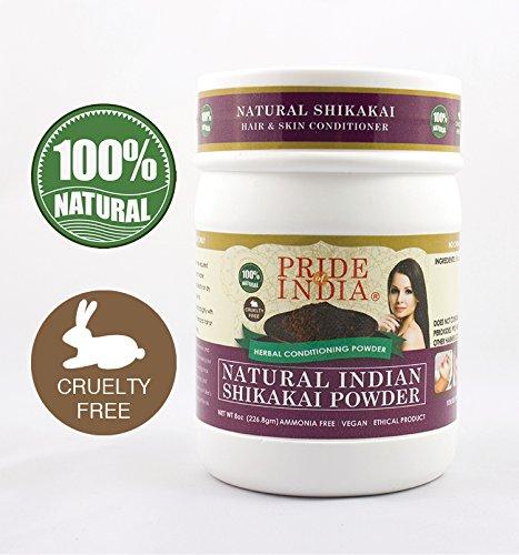 Pride Of India Haar- und Hautpflegepulver aus Kräutern, halbes Pfund, 100% natürlich -