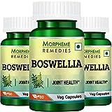Morpheme Remedies Boswellia Shallaki 500mg Extract Supplements (60 Capsules) - Pack Of 3