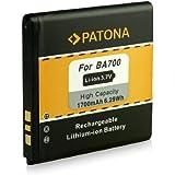 PATONA Batería BA700 para Sony-Ericsson Xperia E E Dual miro neo neo V pro ray tipo tipo dual