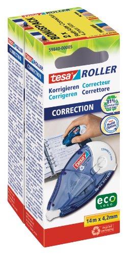 tesa Roller Korrigieren, 2er Sparpack