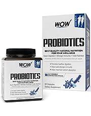 WOW Probiotics 20 Billion CFU (14 Probiotic Strains) 500mg