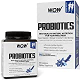 Wow Probiotics 20 Billion per Capsule 14 Probiotic Strains - 60 Count