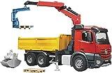 Bruder Mb Arocs Baustellen Lkw mit Kran