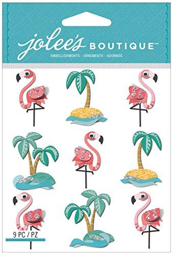 jolees-boutique-dimensional-stickers-flamants-roses-et-palm-tree-repetition