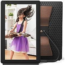 Nixplay Seed Wave 13.3 Pulgadas Smart Speaker y Marco Digital con Bluetooth, Aplicación iPhone y