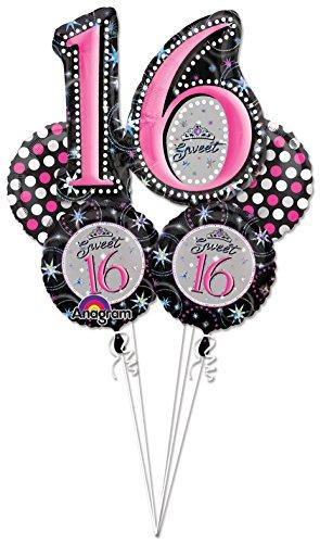 zum 16. Geburtstag, Aufschrift:Sweet 16