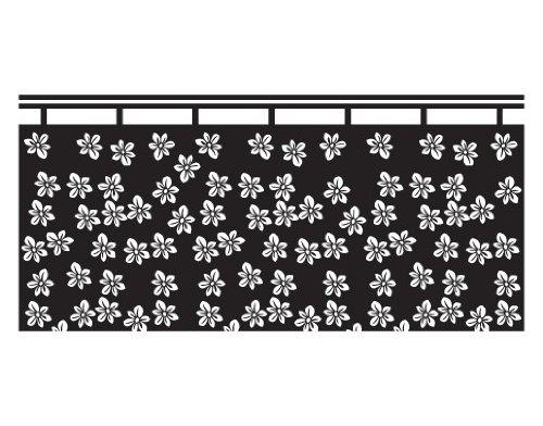 Blind No. UL7 Cortina con diseño de flores