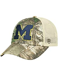 Top of the World NCAA Men's Hat Adjustable Two Tone Camo Stock Mesh Icon