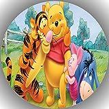 Premium Esspapier Tortenaufleger Tortenbild Geburtstag Winnie Pooh N1