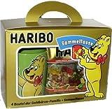 HARIBO Geschenkpackung - Sammeltasse + 4 Tüten Haribo (Goldbären, Sauer Goldbären, Saft-Goldbären, Fan-Edition)