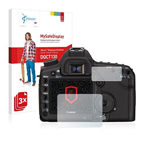 Cover Canon 5d (Vikuiti DQCT130 Canon EOS 5D Mark II Displayschutzfolie von 3M [3 Stück], Schutzfolie)
