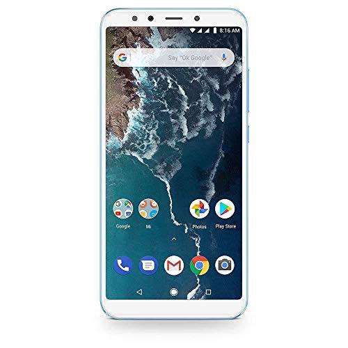 "Xiaomi MI A2 - Smartphone OF 5.9"" (Qualcomm Snapdragon 660 a 2.2 GHz, RAM 4 GB, memory 64 GB, GBal chamber 12 / 20MP, Android) Color blue [Spanish version]"
