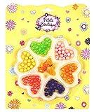 Stelle deinen Kinder Spielzeug Adventskalender selber zusammen Spielsachen Mädchen Junge einzelne kleine Spielware Paket (Perlen auffädeln)