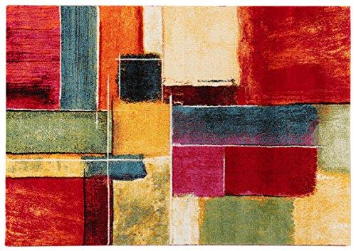 ABC Gallery F Tappeto Arredo, Polipropilene, Multicolore,...
