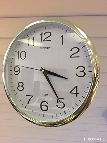 "e-Books Online Libraries Free Books Silver Quartz ""silent tick"" Wall Clock- ideal for use in the office, home or kitchen. Quality quartz movement means the clock is very accurate. The silent sweep means none of that annoying ticking! MOBI"