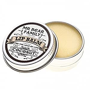 Mr. Bear Family Lip Balm, Coconut 15ml