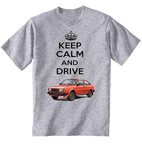 Keep Calm and Drive a Skoda Rapid 1984 T-shirt