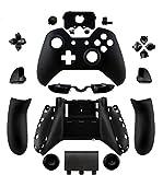 Canamite kit de pièces de rechange Bouton de rechange complète Shell Housse Coque de protection pour manette Xbox One Elite avec prise jack casque 3,5mm