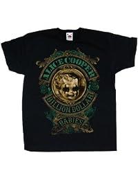 Alice Cooper Boy's Billion Dollar Short Sleeve T-Shirt