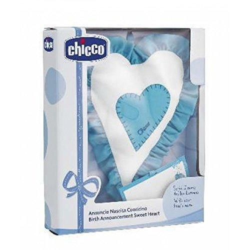 Chicco 023122 - fiocco cuoricino, azzurro