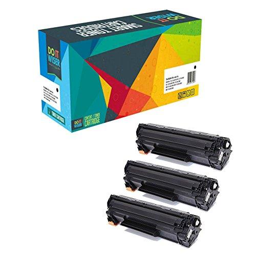 Preisvergleich Produktbild 3X Do it Wiser ® CF283A Kompatible Toner für HP LaserJet Pro M201dw 201n MFP M125a M125nw M125rnw M127fn M127fp M127fw M225dn M225dw - 1,500 Seiten