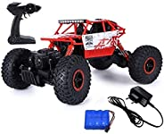 Popsugar - THRC699-105R 4 Wheel Drive 1:18 Rock Crawler Off Roader Monster Truck with 2.4GHz Remote Control Re