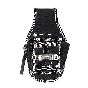 KKmoon Cinturón de Portaherramientas para Herramienta Electricista,Acomodar los Martillos/Alicates/Cuchillos/Llaves, etc