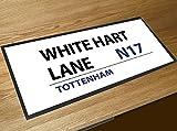 Fußmatte White Hart Lane Tottenham Fußball, Kneipe, Bar