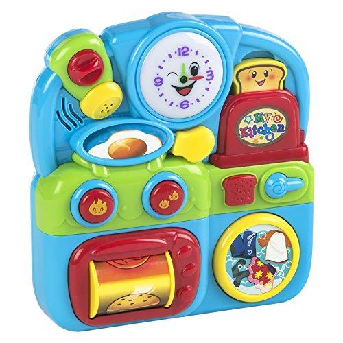 Playgo - Juego actividades cocina con sonido y luces (ColorBaby 44262)