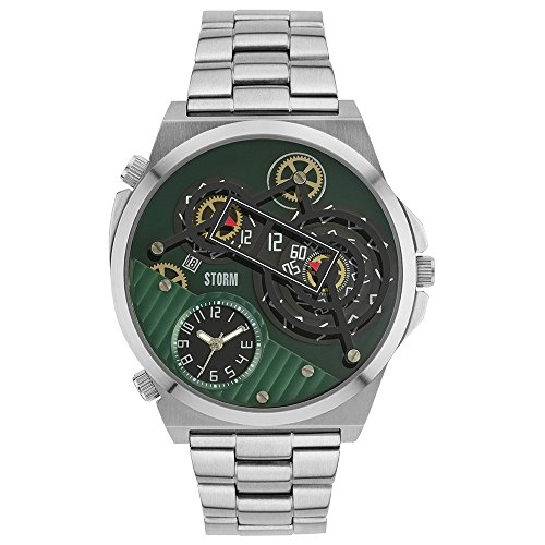Mens STORM Trimatic Green Watch TRIMATIC-GREEN