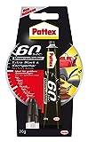 Pattex 60 Sekunden Universalkleber/Extra starker und wasserfester Kleber - ideal auch für größere Reparaturen / 1 x 20g