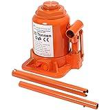 Timbertech Hydraulic Bottle Jack (2 - 50 t) Heavy Duty Car Van Caravan Truck Bottle Jack Tyre Removal Tool (20 t)