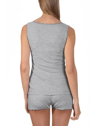 Bellybutton Damen Umstands Schlafanzugoberteil LISSIA - Top Grau (grey melange 70501)