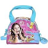 Perletti 13217 - Soy Luna Disney Handtasche - Umhängetasche für junges Mädchen - Rosa und Blau - 17 x 22 x 11 cm