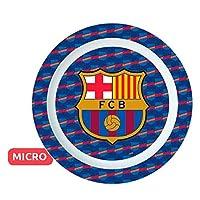 FCB FC Barcelona Plate Microwave Kids, Color (Stor st-01847)