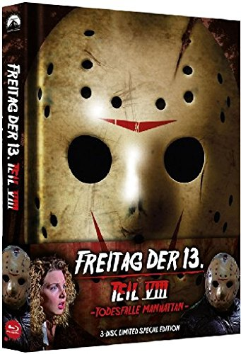 Freitag, der 13. - Teil 8: Todesfalle Manhattan - Uncut/Mediabook (+ DVD) (+ Bonus-DVD) [Blu-ray] [Limited Edition]