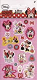 Disney Minnie Mouse Sticker Pack - 6 Sheets
