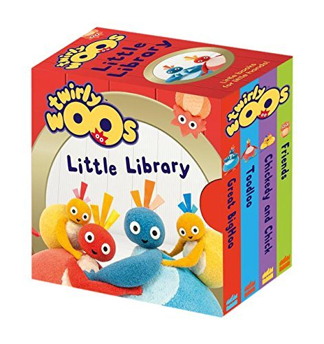 Twirlywoos Little Library (Twirlywoos) (October 8, 2015) Board book