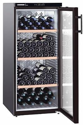 Liebherr WKB 3212 - wine coolers (freestanding, Black, 5 - 20 °C, Black, SN, ST, A) by Liebherr
