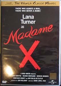 MADAME X - Lana Turner, John Forsythe 1966 CLASSIC - NEW