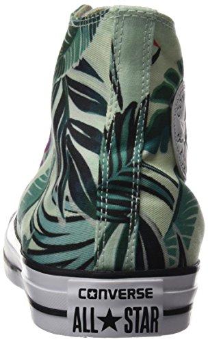 Converse Ctas Hi, Sneaker a Collo Alto Donna Multicolore (Fiberglass/Menta/White)