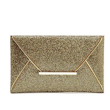 pwne Meine Damen Souvenir Umschlag Handtaschen Abendtasche Kupplung Gold