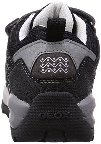 Geox - J Orizont Boy Abx C, Sneaker basse Bambino Nero (Schwarz (C0017BLACK/GREY))