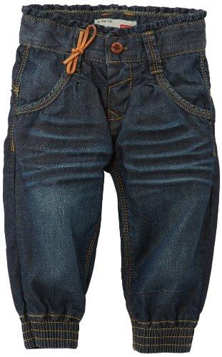 NAME IT Baby - Mädchen Jeans Nina Mini Baggy Dnm Pant R 413 Noos, Gr. 86 (Herstellergröße: 92), Blau (Denim) Kleine Mädchen Jeans Schwarz
